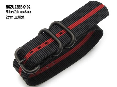 Buckle Tali Jam Tangan 18 16 nszu22bbk102 22mm zulu nato striped black and pvd buckle 25 jewles rotomatic