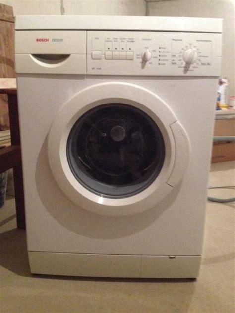 bosch waschmaschine exclusiv waschmaschine bosch exklusiv type wim34 in polch