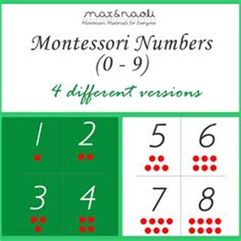 montessori number cards template blank montessori style 3 part nomenclature cards template
