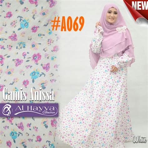 Gamis Remaja Bahan Katun gamis katun annisa a069 model baju muslim remaja modern