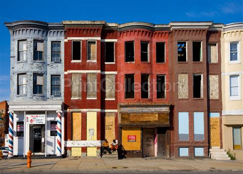 row home row houses baltimore maryland maryland abandoned and