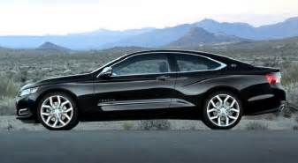 2015 chevy impala review changes coupe gas