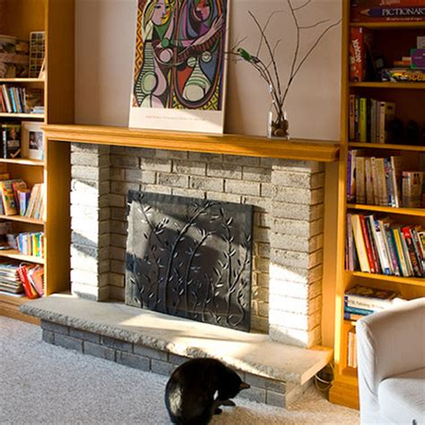 home dzine craft ideas simple yet decorative fireplace