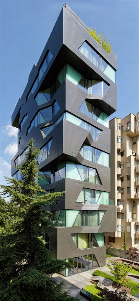 apartment design by architects the exterior of this apartment building is a break from
