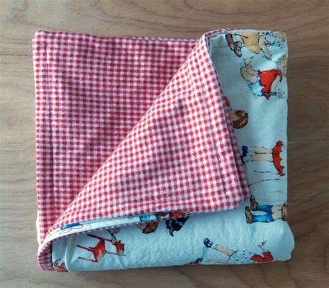 Sew Baby Quilt by 30 Minute Baby Blanket