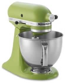 small kitchen appliances kitchenaid artisan stand mixer green apple contemporary