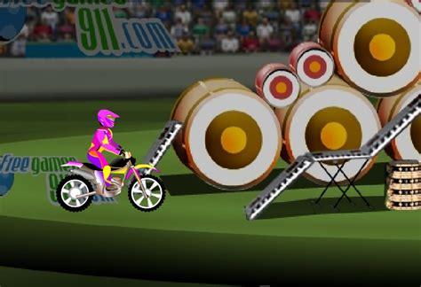 dimension garage jeux moto bike