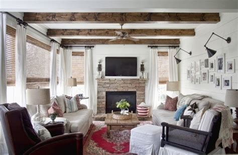 modern country living rooms modern country living room eclectic living room