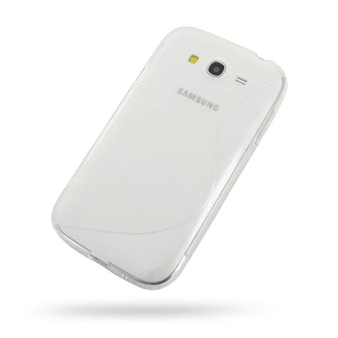 Samsung Grand Duos I9082 Softcase Chrome samsung galaxy grand soft translucent s shape pattern pdair