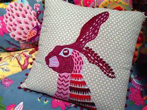 karma living square rabbit pillow shop nectar high