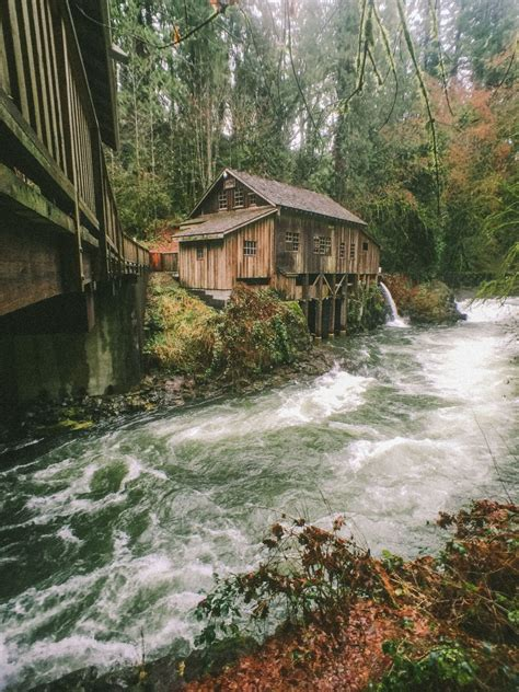 abandoned places in washington abandoned water mill close to the border of washington and