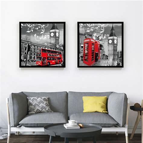 Kk Home Decor Aliexpress Com Buy Vintage Style Scenery London Black