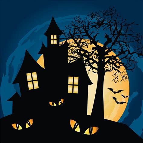 haunted house cartoon haunted house jigsaw puzzle in halloween puzzles on thejigsawpuzzles com