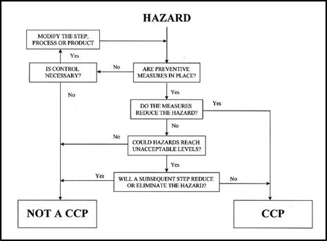haccp flowchart 4 best images of haccp flow chart template printable