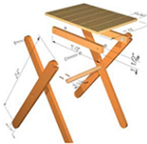 plans  foldable table  woodworking