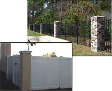 Commercial Masonry Privacy Retaining Wall Fence