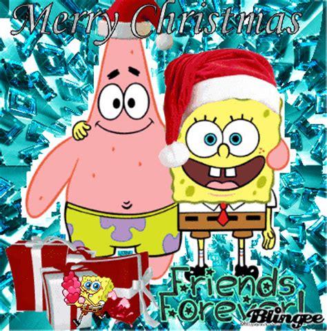 merry christmas  sponge bob  patrick picture  blingeecom