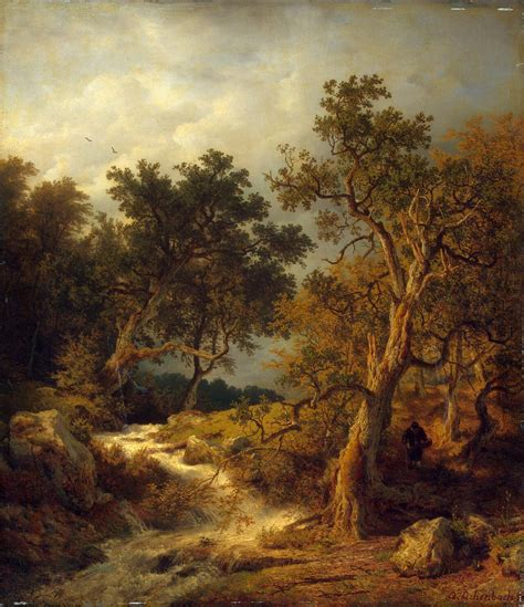 Landscape Paintings Landscape With A Painting Achenbach Andreas