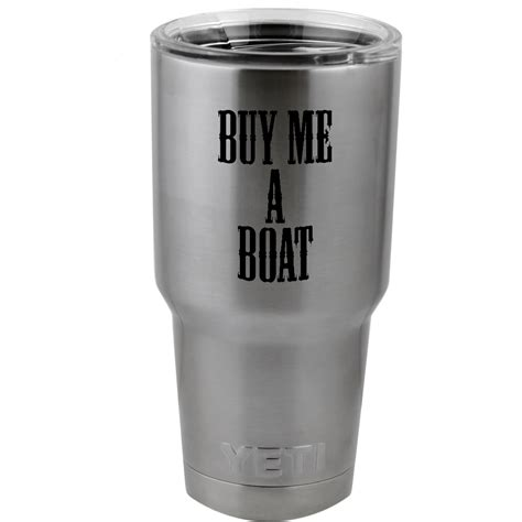 buy me a boat vinyl funny buy me a boat country song vinyl sticker decal for