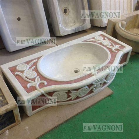 lavello in marmo lavandino lavello in marmo con intarsi mod 20pg lav20pg