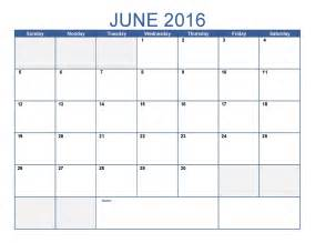Pages Calendar Template by June 2016 Printable Calendar Blank Templates Printable