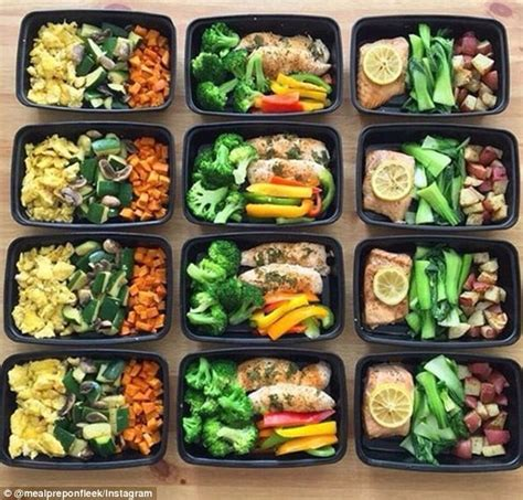 healthy meal prep time saving plans to prep and portion your weekly meals books benbow shares top meal prep tips daily mail