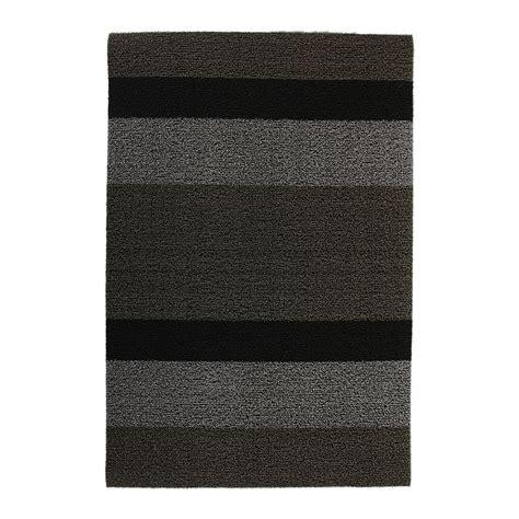 buy chilewich large stripe shag rug silver black