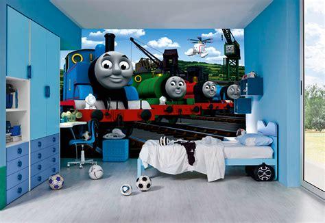 thomas bedroom thomas the tank engine wall murals