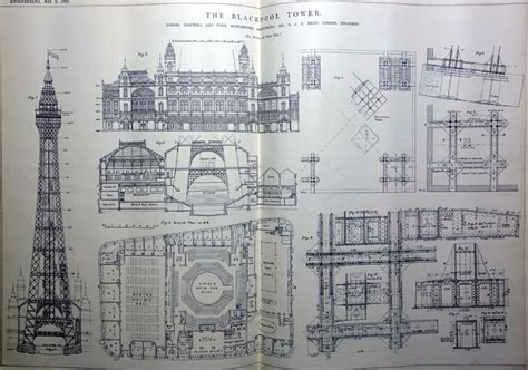 blackpool tower floor plan did you know the blackpool tower came from newton heath