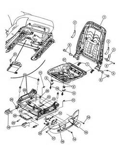 Daimler Chrysler Parts Seats Attaching Parts Power Seat