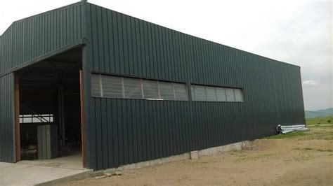 Facade Batiment Industriel by B 226 Timents Industriels Bi Pentes Accol 233 S Au Congo