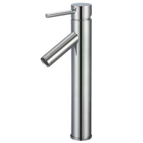 brushed chrome bathroom faucets modern taron 104 bathroom faucet polished chrome or