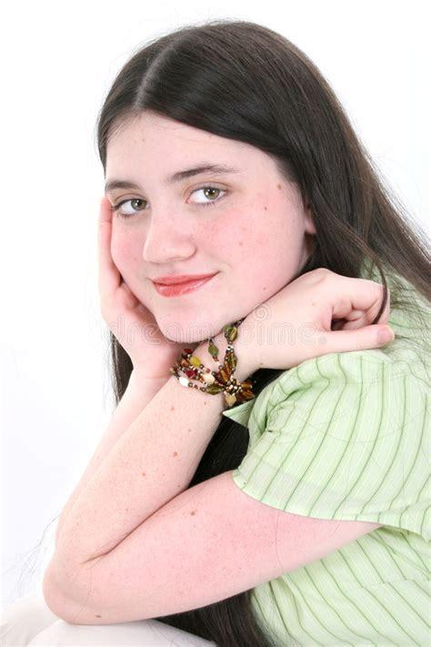 tween freckles beautiful tween girl with hazel eyes freckles and long