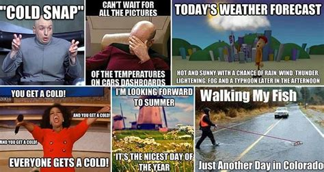13 hilariously accurate images about the weather that