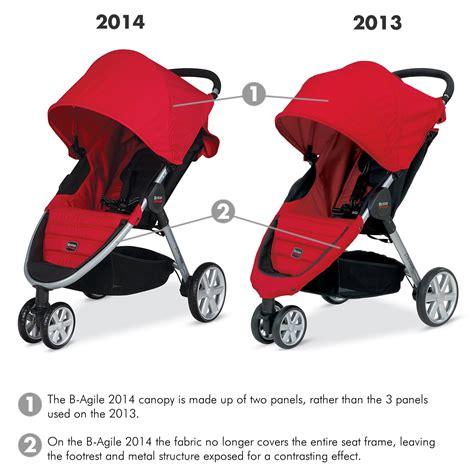 baby car seat vs travel system britax b agile stroller