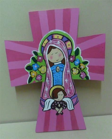 decoracion con virgencitas porfis decoracion de virgencita porfis cruz de la virgencitas