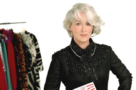 meryl streep as miranda priestly in devil wears prada the devil wears prada picture 1