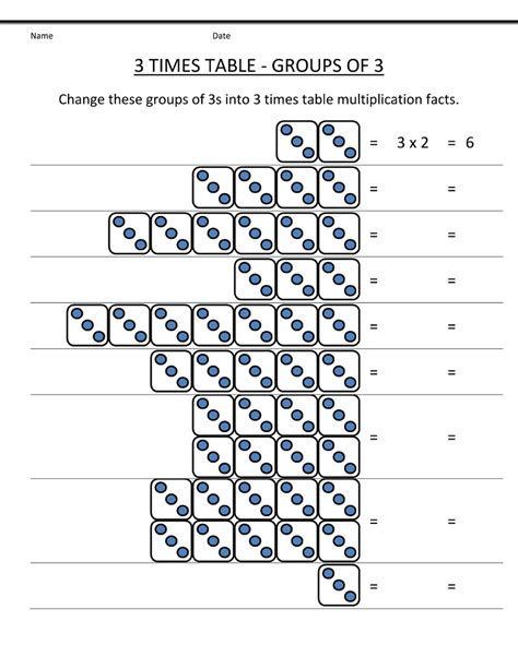 2nd grade table 3 times table worksheets to print activity shelter