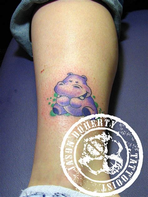 hippo tattoo hippo images designs