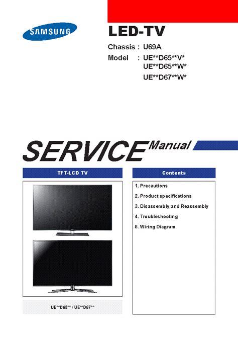 samsung led tv service manual wiring diagrams wiring