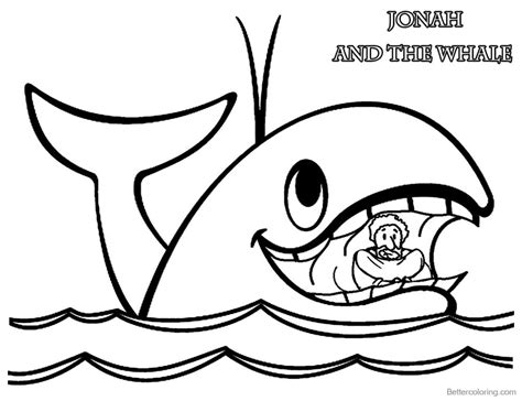 jonah coloring pages jonah and the whale coloring pages jonah in whale s