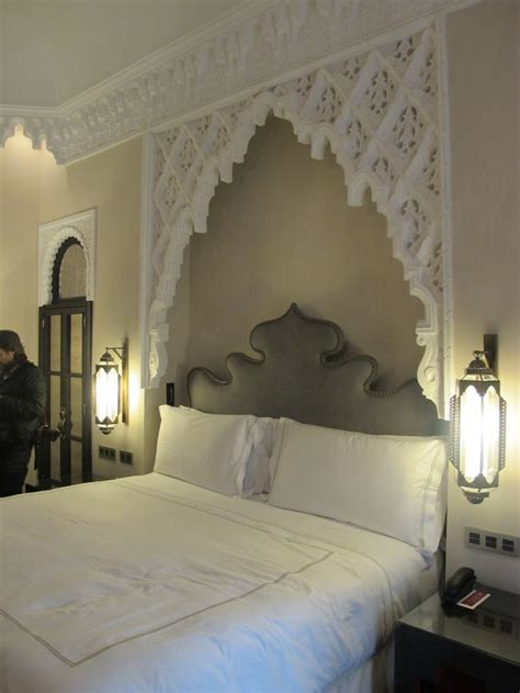 morocco headboard lovely moroccan headboard with side lanterns lanterns