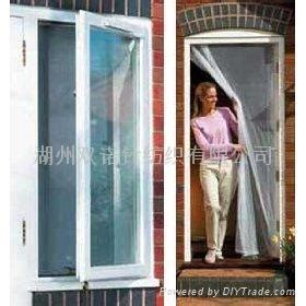 screen curtain door instant drop down door screen window screen insect