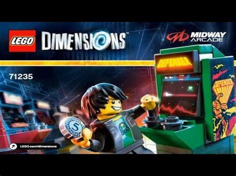 Diskon Lego 71235 Dimensions Midway Arcade Gamer Kid lego dimensions 2016 midway arcade level pack 71235 gamer kid 1