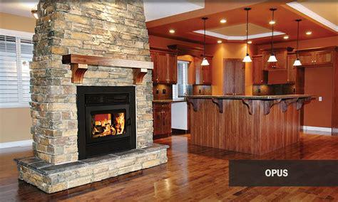 supreme opus see through wood burning fireplace tubs