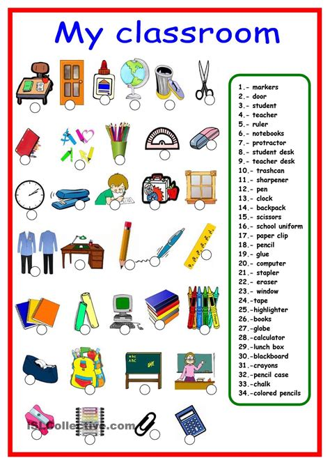 10 Lessons From The Classroom Of by School Supplies Vocabulary Ile Ilgili G 246 Rsel Sonucu