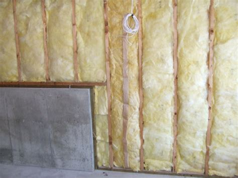 fiberglass barrier for basement walls