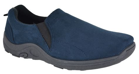 Casual Walking Shoes Code H 14 new mens womens slip on faux suede casual walking hiking jungle trainers shoes ebay