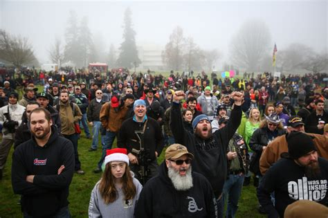 Washington State Background Check Laws Gun Crowd Vows To Defy Background Check Hears Calls For Confrontation Strange