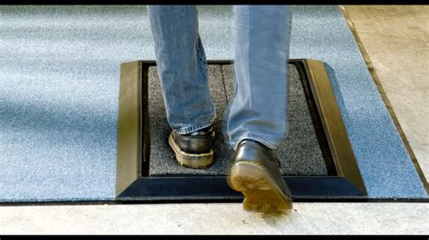 Disinfectant Mat For Cleaning Shoes - sanitizing mat wearwell sanitizing floor mat black from